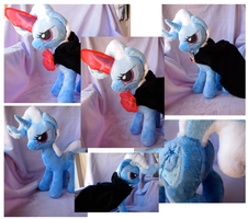 Alicorn Amulet Trixie Plush by greepix