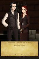 Sweeney Todd and Mrs. Lovett by EriksAngelOfMusic22