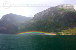 Rainbow - Norway by cpg785