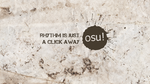 Osu! Wallpaper grungy style by FadeOffset