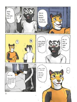 Rimba Racer in Radar and Tag comic Pg.1 by wingwolf88