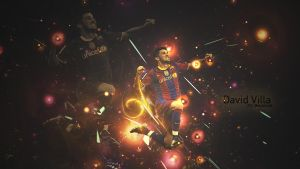 David Villa Wallpaper by Wth-Iz-This