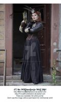 Steampunk Lady Stock by MADmoiselleMeliStock