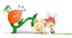 .:Doll:. My new Plant Pone ~ Needs a name by BabcinyPasztet