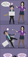 Productivity, Meet Miss Pauling by EzraMorris
