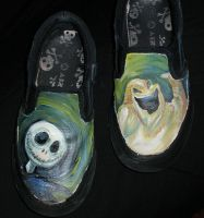 Jack and Oogie Shoes by LevityGraphics