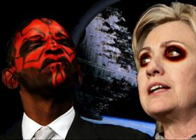 Darth Obama - Senator Clinton by SatanicRetribution
