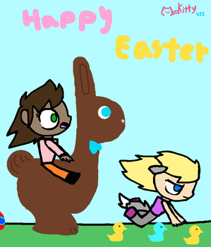Have A Happy Easter by Kittythecat411