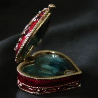 Heart Shaped Trinket Box by FantasyStock