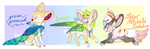 FENNEKEETS - BATCH ONE by sparrowkeets
