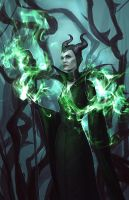 Maleficent by Skaera