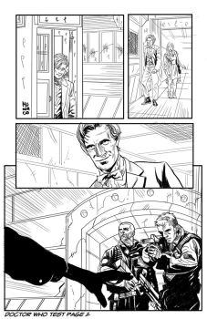 Pencil test Doctor Who pag2 by MeloMonaco