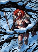 Red Sonja by typeATS
