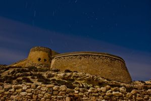 Castillo San Ramon -  Cabo de Gata. by GerardPort