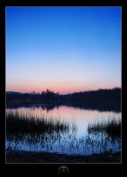 Katzensee after sundown by nSomniacs