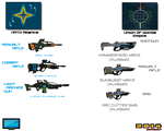 Weapon Concepts Cross Over Part 2 by Luckymarine577