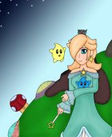 Rosalina: Mother of the Lumas by PipoMadness1992