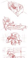 -SKETCH- The Hedgehogs Day Off by Emerl-lad12
