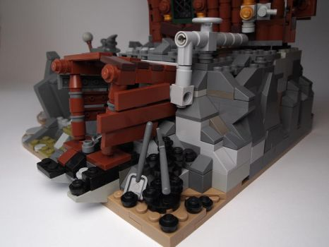 LEGO. Starcounter's Keep.Mine. by DwalinF