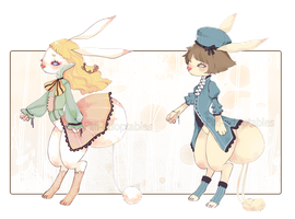 [CLOSED] ADOPT AUCTION 02 - Fairy Tale Rabbit by Piffi-pi