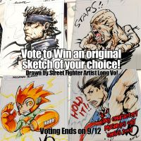 2 days left  to Win an Original Sketch by me! by Vostalgic