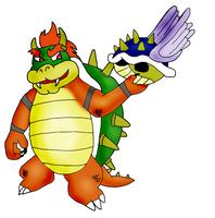 Bowser coloured by misty2999