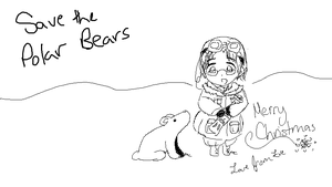 Merry Christmas- Save the Polar Bears by Eveeevee
