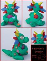 Patchwork Dragon - W7 by OtaniFumetsu