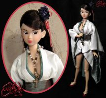 Snow White Miya Custom Doll by jvcustoms