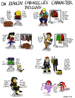 On Xiaolin Chronicles Character Designs by SYangLau
