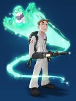 Ghostbuster Dan by KidNotorious