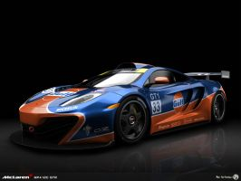 Gulf MP4-12C GTR studio by AfroAfroguy