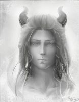 Realistic Portrait of Taylios's Guardian by Frozen-song