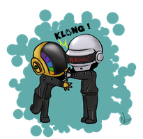 Daft hug by Nawalk
