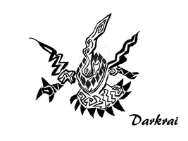 Darkrai Tribal by ArkanuzDarko