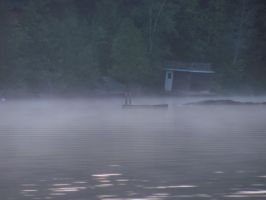 Lonely Boathouse by VictorianSpectre