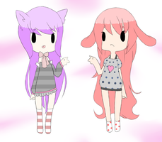 Adoptables! by ladybunny12