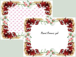 Floral Frames by cazcastalla