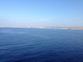 Malta from the ferry by Cr7NeTwOrK