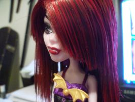 Lucy Vamp. Monster High O.C -Doll- by Ayleia-The-Kitty