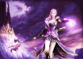 Aion Girl Mage by Jamesisack