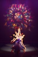Stain Glass and Dancing by choas-overlord-joe