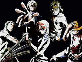 One Piece East Blue Crew by h00pZzz