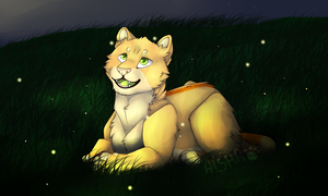 Fireflies by AishaArts