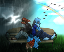 ~Rain or shine~ by ScottishPeppers