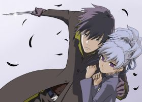 Darker than black: Hei and Yin by MaybeCloser