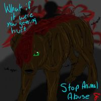 Stop Animal Abuse by ClawsandSkulls98