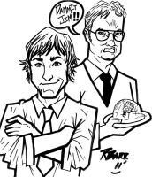 The Jim and Dwight Show by RADMANRB