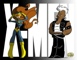 X-MEN AND WOMEN by JayFosgitt