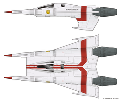 Starfighter - BSG style by BJ-O23
